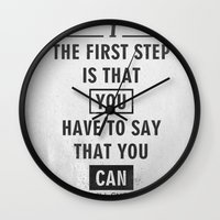 Will Smith Quote - Motiv… Wall Clock
