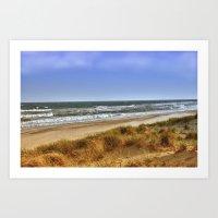 Missing The Beach Art Print