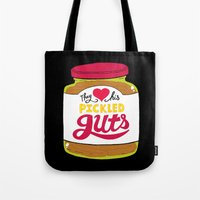 They Love His Pickled Gu… Tote Bag