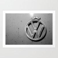 VW Mo. Art Print