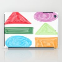 shapes iPad Case