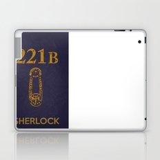 Sherlock Poster 04 Laptop & iPad Skin