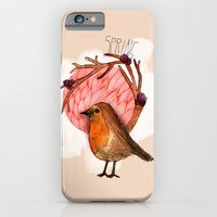 iPhone & iPod Case featuring Spring birdy / Nr. 5 by dorc