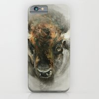 iPhone & iPod Case featuring Plains Bison by ARJr