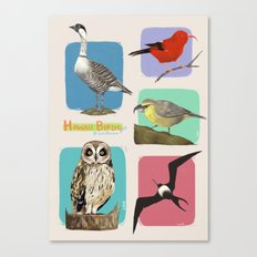 Hawaii Birds Collection Part 2 Canvas Print