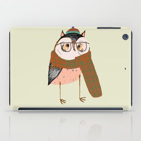 Owls Love Scarfs.  iPad Case