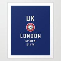 UK London Big Ben Art Print
