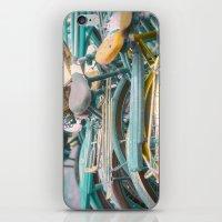 Bicicletta Tangle iPhone & iPod Skin