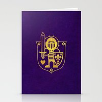 Castle Mama Crest Stationery Cards