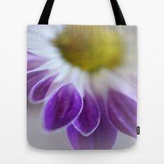 Daisy Leaf Macro Tote Bag