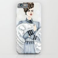 Woman With Fur  iPhone 6 Slim Case