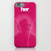 iPhone & iPod Case featuring Her by Matthew Bartlett