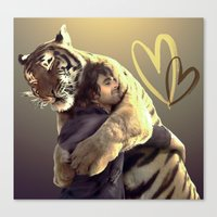 Big Hug-Big Love Canvas Print