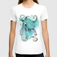 octopus T-shirts featuring Octopus by Emily Golden