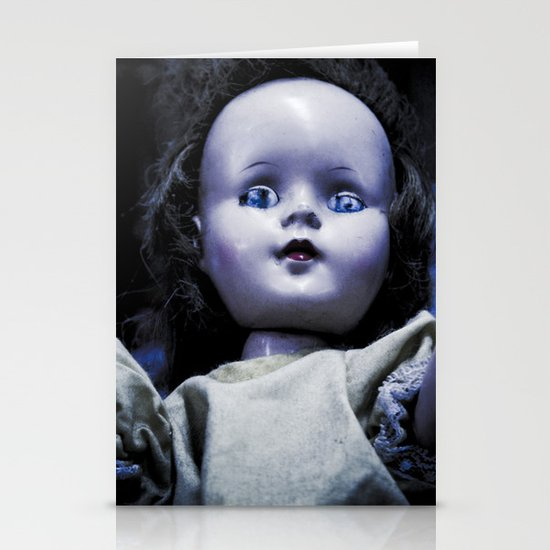 Doll face Stationery Card