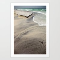 Sediment Art Print