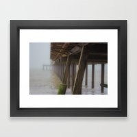 Beach Mist Framed Art Print