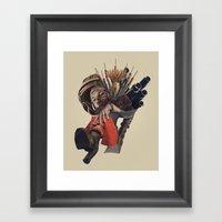 Congratulations, You Cau… Framed Art Print