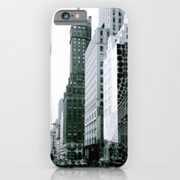 iPhone & iPod Case featuring Nostalgia: NYC by nattarean