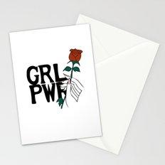 GRL PWR Rose Stationery Cards