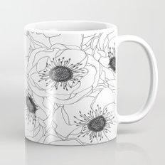 White Anemones Mug