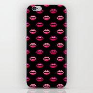 Val - Kiss Heart Love Pa… iPhone & iPod Skin