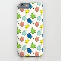 iPhone & iPod Case featuring birds by serenita