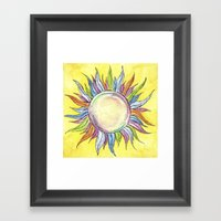 Make Your Own Sunshine Framed Art Print