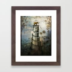 Where Keys hang on Trees Framed Art Print
