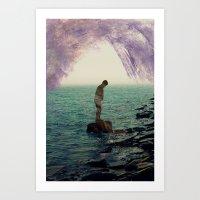 Silhouette II  Art Print
