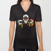 Chemical X-Girls Unisex V-Neck