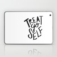Treat Yo Self Laptop & iPad Skin
