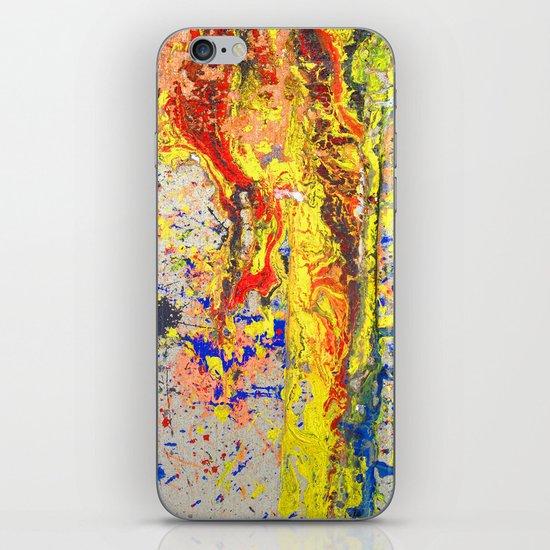 NYC Background 5 iPhone & iPod Skin