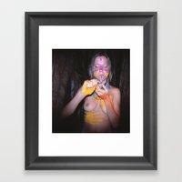 The Summoning  Shaman I Framed Art Print