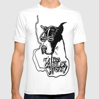 It's You, Charles River Mens Fitted Tee White SMALL