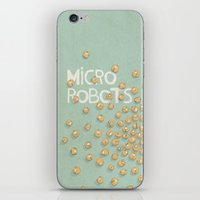 microrobo iPhone & iPod Skin