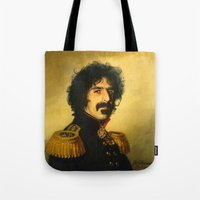 Frank Zappa - replaceface Tote Bag