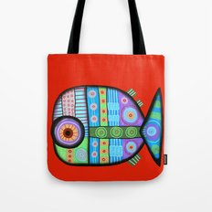 Fish which ate ship Tote Bag