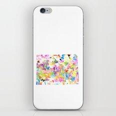 Typographic Colorado - multi watercolor iPhone & iPod Skin