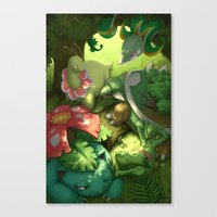 Solar Beam Canvas Print