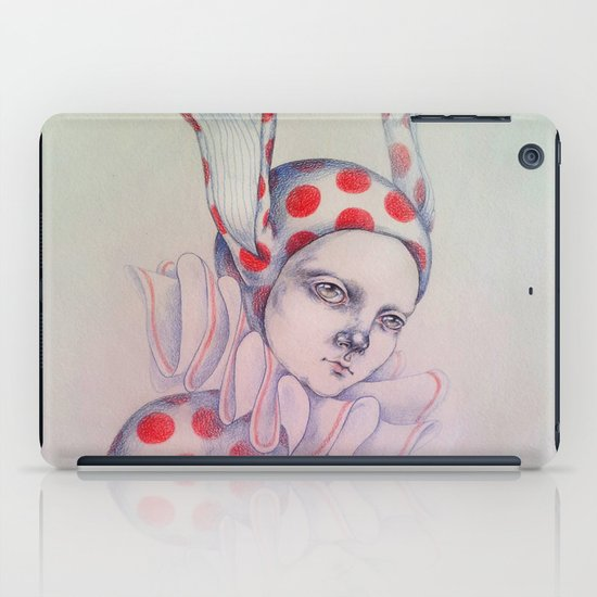 The card of hearts iPad Case