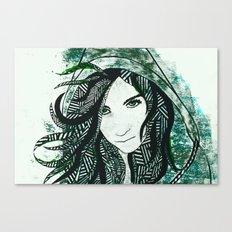 Faye Canvas Print