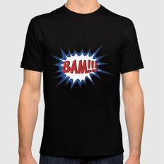 BAM Mens Fitted Tee Black SMALL