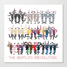 FAB FOUR (R)EVOLUTION Canvas Print