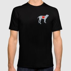 Weim Love SMALL Black Mens Fitted Tee