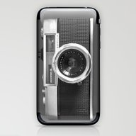 iPhone & iPod Skin featuring Camera by Nicklas Gustafsson