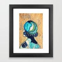 Mind Map I Framed Art Print