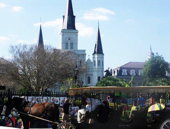 New Orleans Castle Art Print
