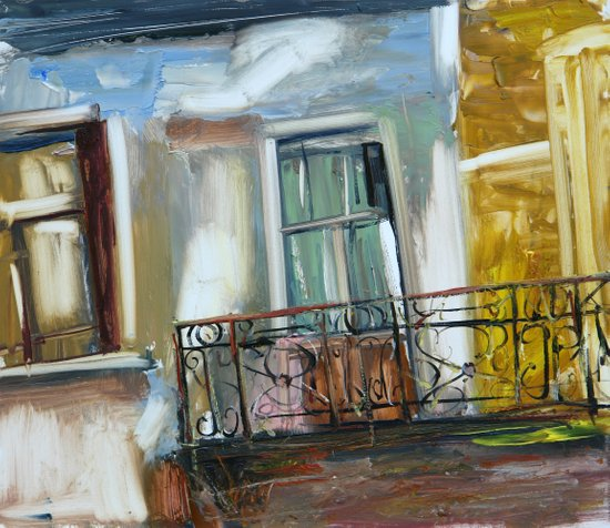 balconyIII Art Print