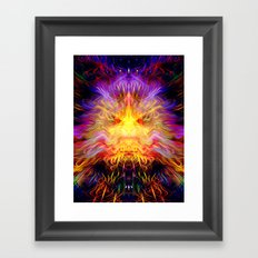 Cosmic Radiation Framed Art Print